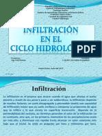 Infiltracion en El Ciclo Hidrologico_ Rosaydimir Dellán