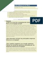 La Contaminación Minera en El Perú