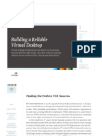 Building a Reliable Virtual Desktop