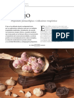 El Ajo_Propiedades Farmacológicas e Indicaciones Terapéuticas