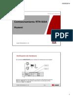 Comisionamiento RTN950A
