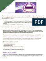 Curso Tecnicas Arcturianas
