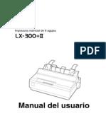 Guía de Usuario EPSON LX 300 II