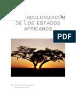 LA DESCOLONIZACIÓN DE LOS ESTADOS AFRICANOS