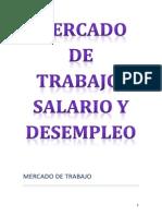 Mercado de Trabajo Salario y Desempleo