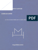 Douglas Richard Hofstadter - Ambigrammi
