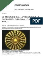 La Creazione Con La Vibrazione e Le Sue Forme PDF