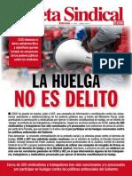 Pub125865 Gaceta Sindical n 205 La Huelga No Es Delito
