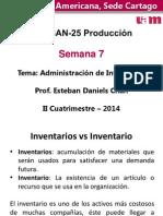 Presentación Semana 7 Administración de Inventarios