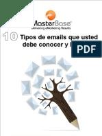 10 Tipos de Email Que Usted Debe Conocer y Hacer v2