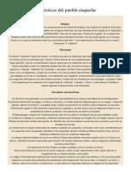 Principales Caracteristicas Del Pueblo Mapuche