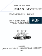 Wisdom of the East the Persian Mystics - Rumi