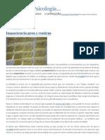 Impaciencia Pros y Contras - Psicología Clínica Madrid