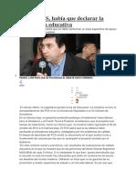 Criticas Ley Educacion