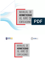 Manual Hermeticidad Al Aire de Edificaciones