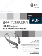 HBS800-Lg Tone Ultra Manual Eng