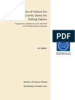 Probability of Failure for Concretre Gravity Dams for Sliding Feature (2012) - Thesis (104)