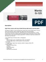 Manta DataSheet G-125 V4.0.0 En