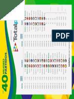 Calendario Mundial 2014