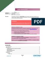 Carta Tecnica Contpaq i Factura Electronica 251