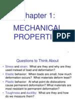 Mechanical Engineering Design L1 - Ch1-Mechanical_properties