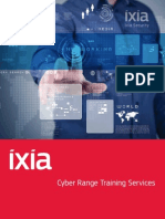 Ixia's Cyber Range Training Program