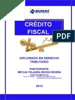 Credito Fiscal-diplomado Derecho Tributario-meylinenciso