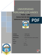 Trabajo Hidrología c1 Paúcar Hinostroza, Pedro Andrés