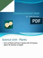 content constructivist unit on plants