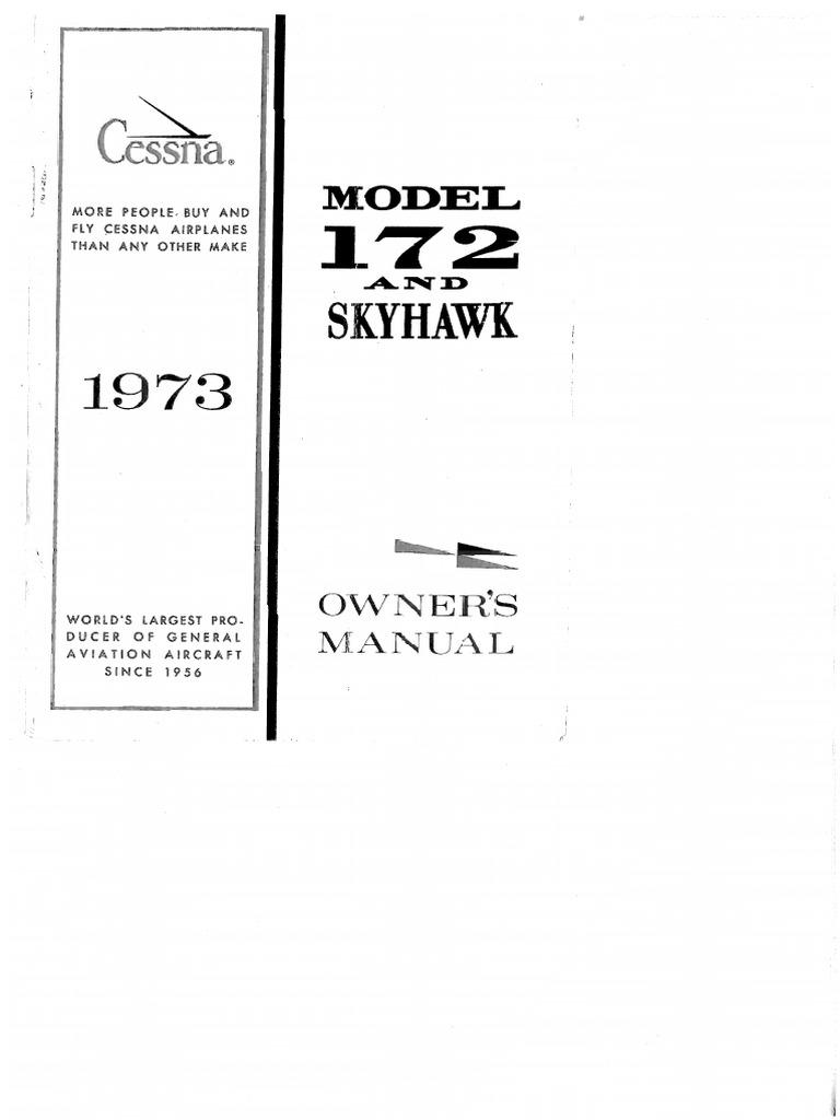 Cessna 172 Manual