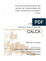 EXPEDIENTE TECNICO CALCA