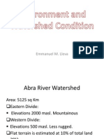 Environmental and Watershed Condition 5-29.Ppt