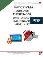 Curso Territorial Valladolid Dossier