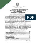 Admisiones Preparatorio Artes Musicales 2014-III-2