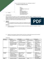 Plan de Tutoria General Ñagazu 2014