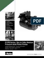P1-PD 18cc-140cc Service Manual