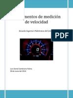 Investigación Medidores de Velocidad