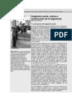 Imaginarios Sociales Contratiempo Revista de Cultura y Pensamiento
