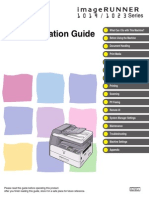 Canon Ir1023 Operations Guide