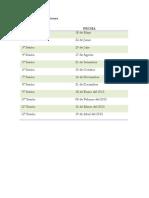 Cronograma de Sesiones TCC