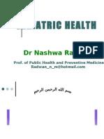 GERIATRIC HEALTH Presentation