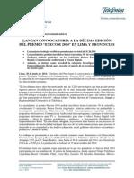20140630 Estímulo Telefónica a la Comunicación 2014