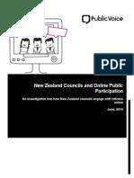 PublicVoice - NZ Councils and Online Public Participation (Preview)