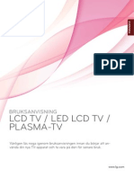 LG TV user manual - sw