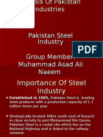 Steel Industry pakistan