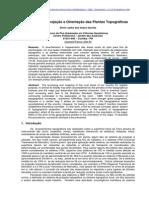 Sistema de Projeção e Orientação Das Plantas Topográficas