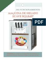 Abril 2014 Manual de Operacion Maquina de Helado Suave BQL818T