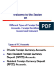 Foreign Remittances -Inward and Outward