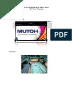 Mesin Digital Print Kain, Brosur