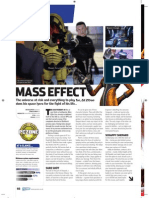 PC Zone - Issue 195 - Mass Effect Review
